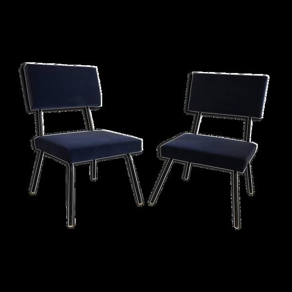 Paire de fauteuils  Italiens vers 1960