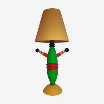 Lampe totem d'Olivier Villatte années 80