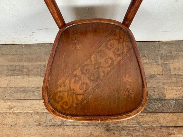 Serie de 6 chaises bistrot Baumann