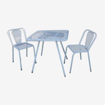 Ensemble René Malaval table et chaises