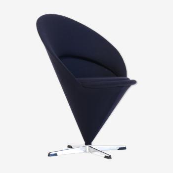 Chaise pivotante cône par Verner Panton