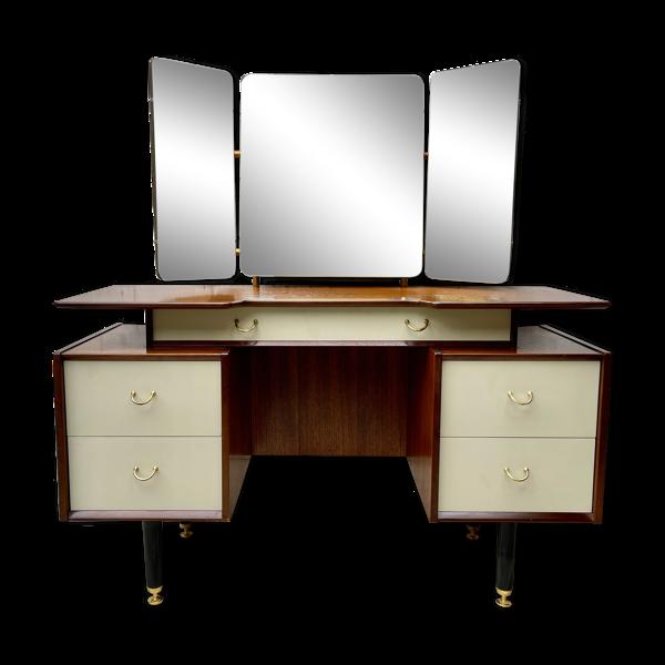 Coiffeuse G Plan avec tiroirs et miroir