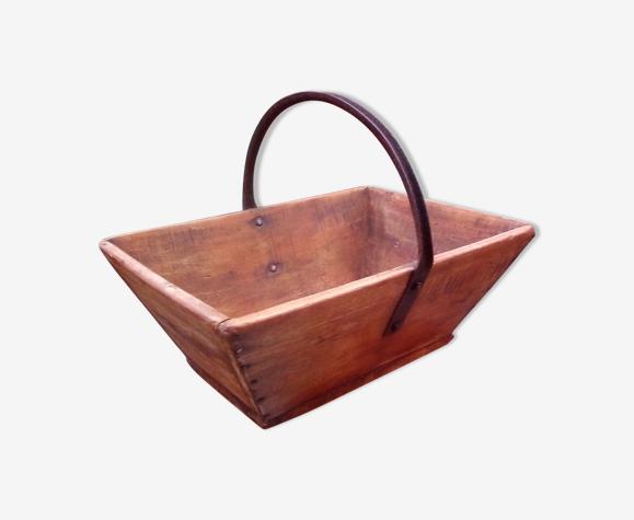 Panier de vendange en bois