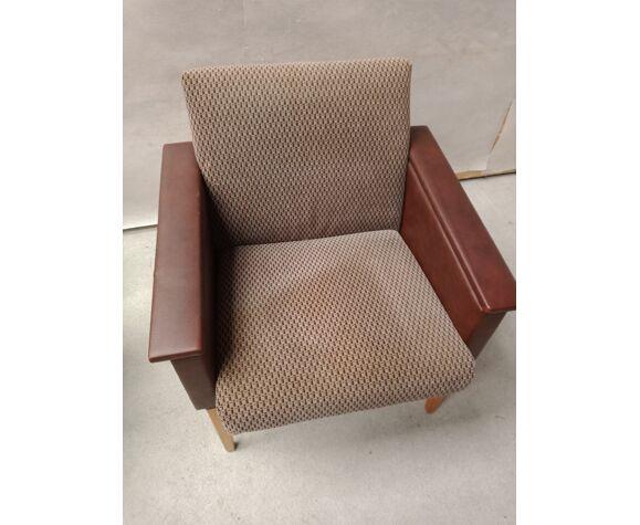 Paire fauteuils vintage