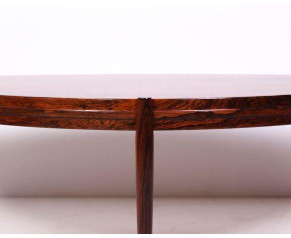 Table basse Johannes Andersen en palissandre par Trensum