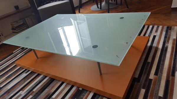 Table basse par Pascal Mourgue pour Cinna