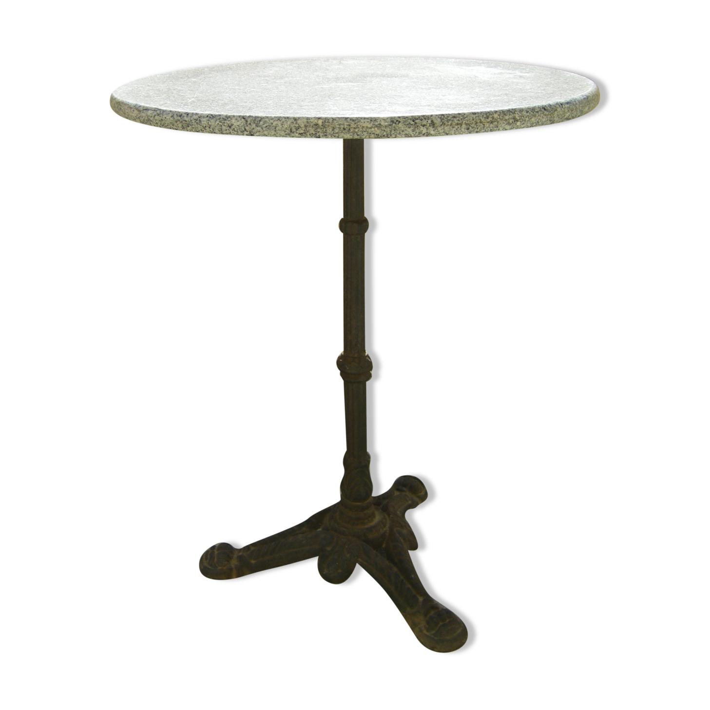 Table  bistrot en