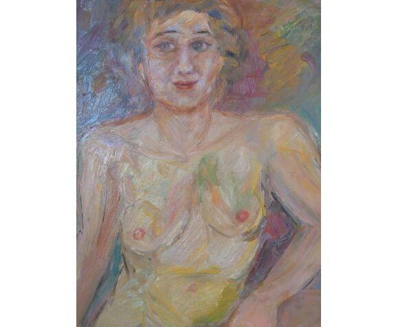 Tableau femme nue par Garnivault