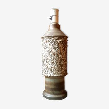 Vintage scandinavian design lamp signed ego stengods atelje