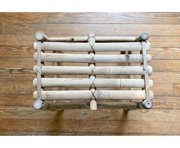 Banc en bambou