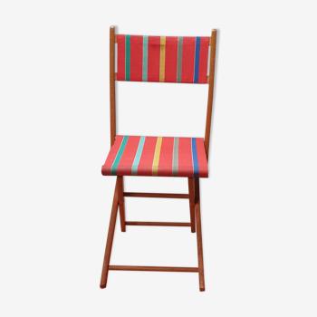 Chaise pliante de jardin
