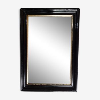 Miroir rectanulaire XIXème siècle 49 cm