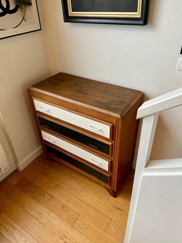 Commode en bois 4 tiroirs