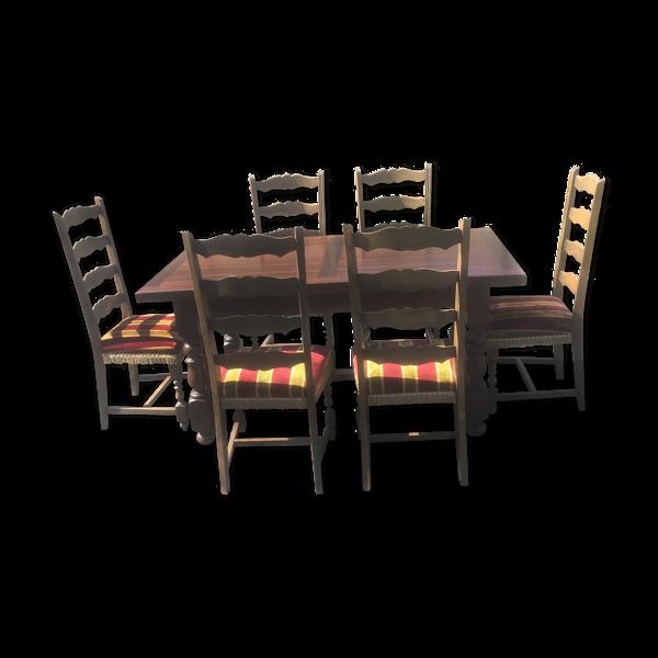 Table salle à manger avec 6 chaises