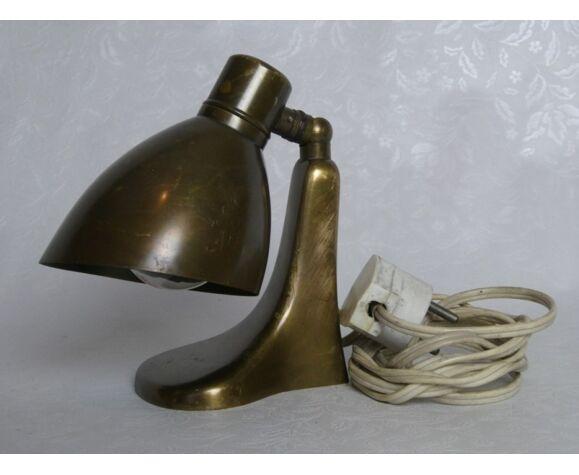 Lampe de table en laiton UP par Jaroslav Anýž pour Krasna Jizba