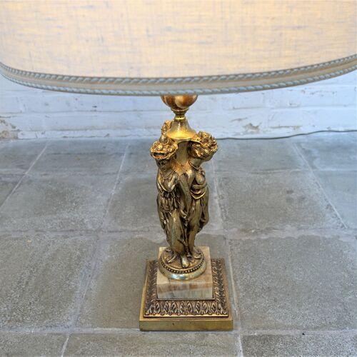 Lampe de table Deknudt Caryatides