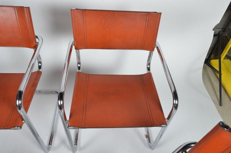 Lot de 4 fauteuils