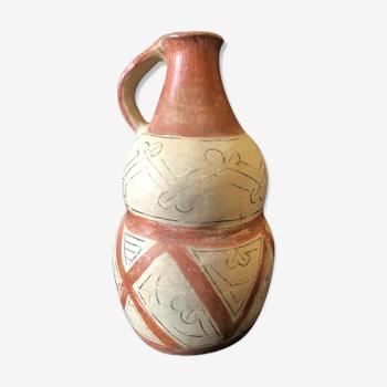 Pichet en céramique kali'na, de Guyane XXè
