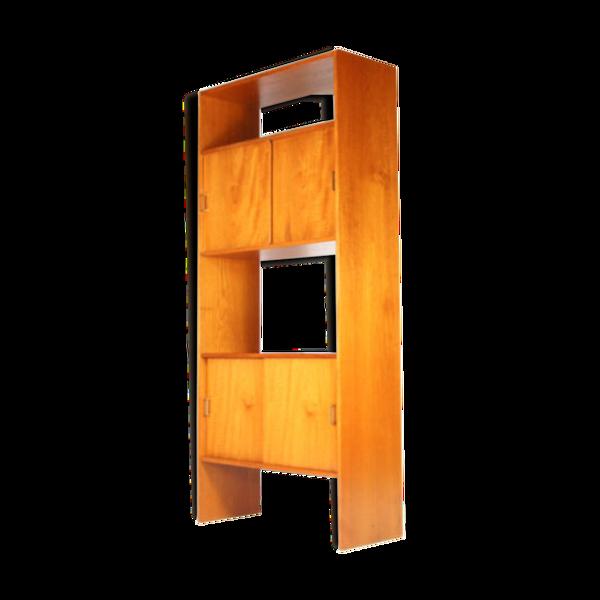 Selency Library book shelf room divider 60 s 70 s