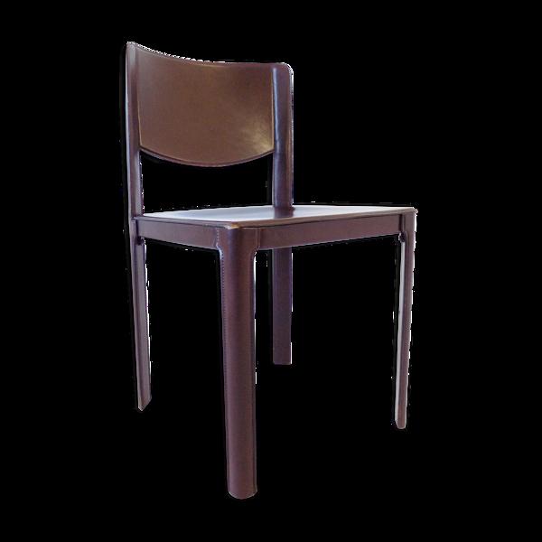 Chaise en cuir Matteo Grassi