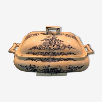 Soupière Louis XV Terre de fer S&G