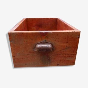 Tiroir ancien de meuble de métier