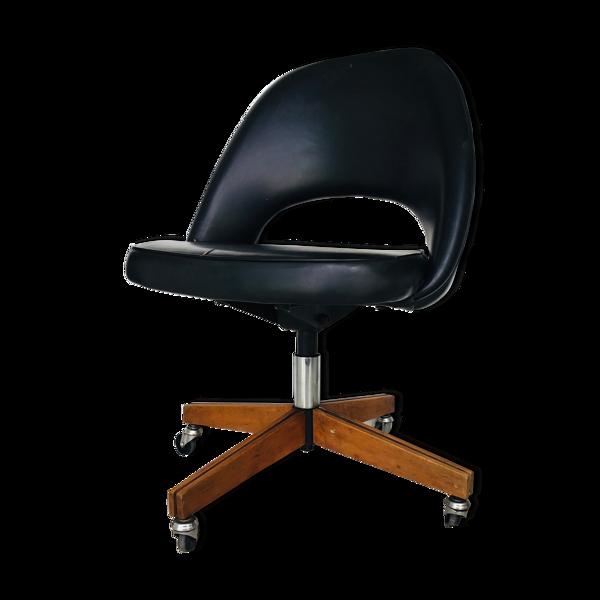 Chaise conférence à roulettes par Eero Saarinen pour Knoll International - 1950