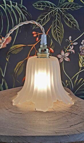 Baladeuse tulipe vintage