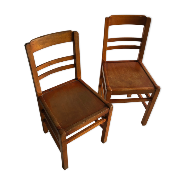 2 chaises bistrot Luterma