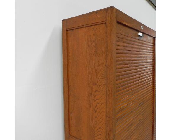 Classeur à rideau avec 2 volets 175 x 175 cm