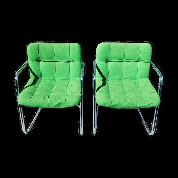 Paire de fauteuils Airborne modèle Storm