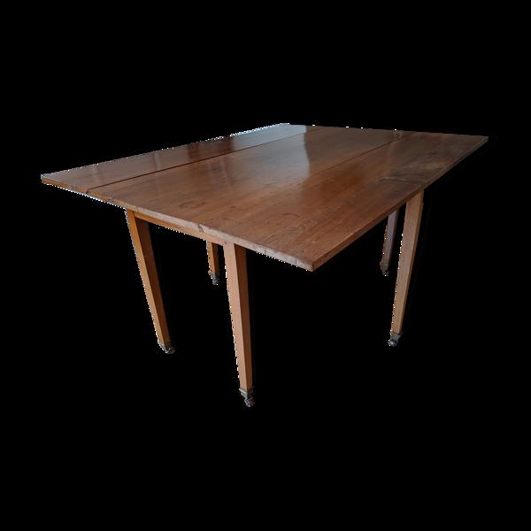 Selency Table noyer époque restauration