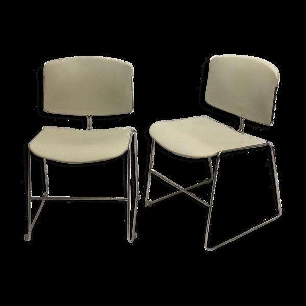 Paire de chaises Max Stacker