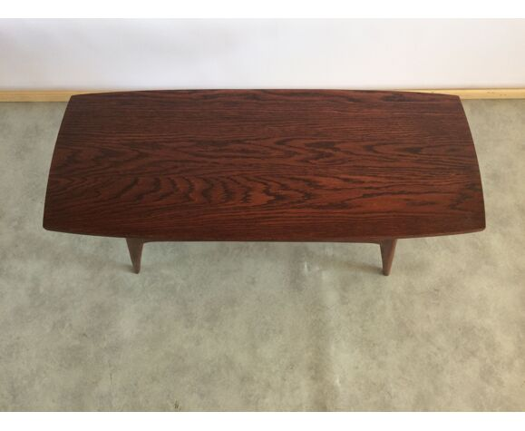 Table basse vintage en teck, années 1960