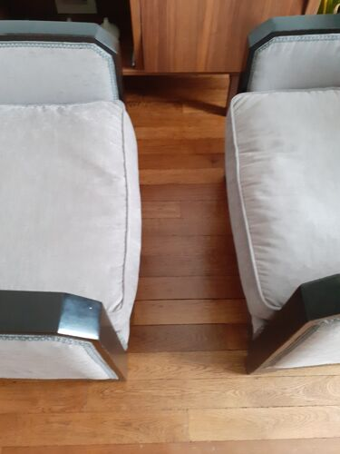 Pair of art deco chairs