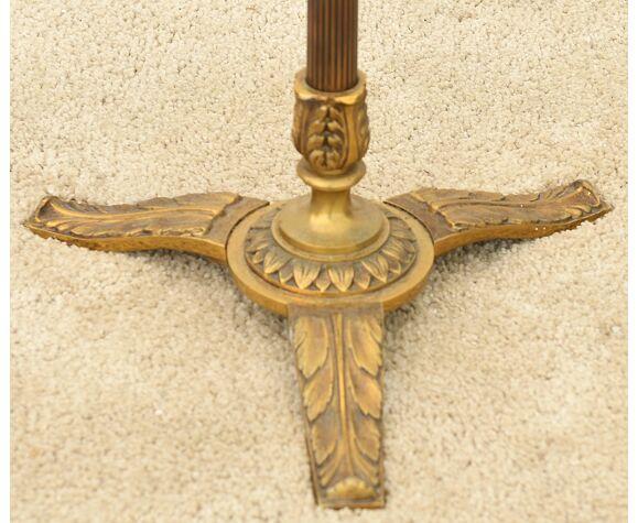 Lampadaire en bronze