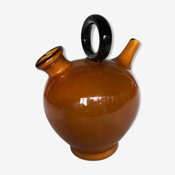 Cruche en céramique émaillée