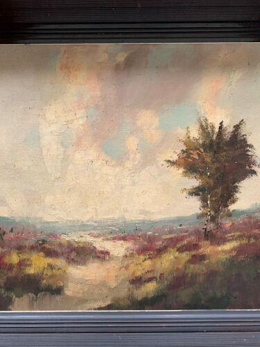 """Paysage """"Bruyère en fleurs"""". H.J. Pauwels"""