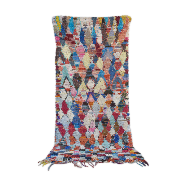 Tapis boucherouite 135x155cm