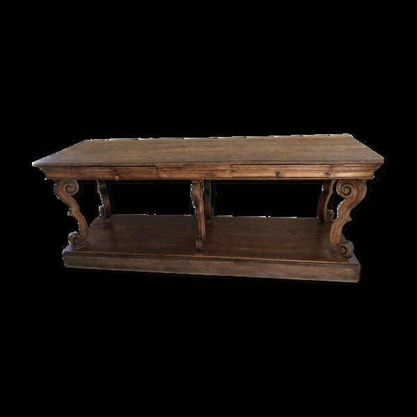 Selency Console table de drapier