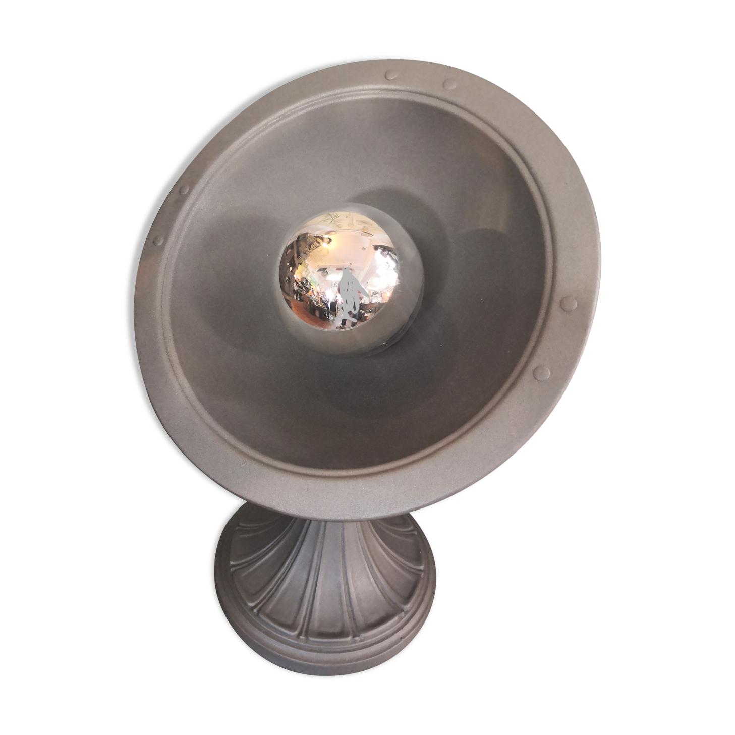 Lampe sur pied calor en métal