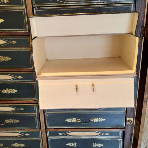 Cartonnier meuble de notaire