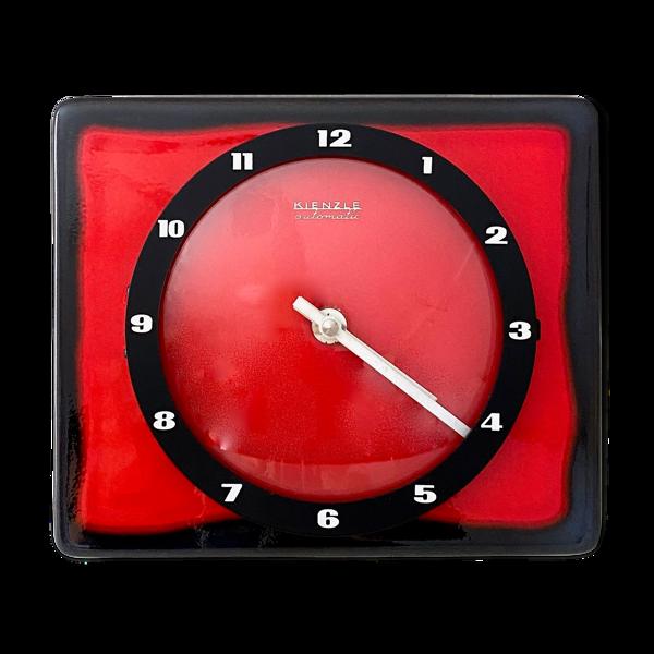 Horloge murale vintage Kienzle automatique, Allemagne des années 70