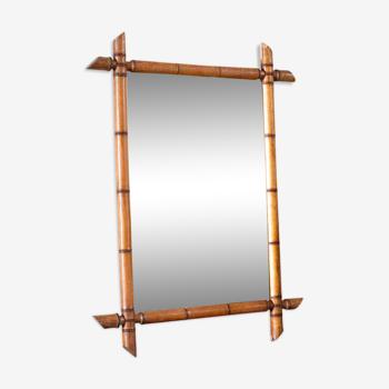 Miroir bambou 71x52 cm