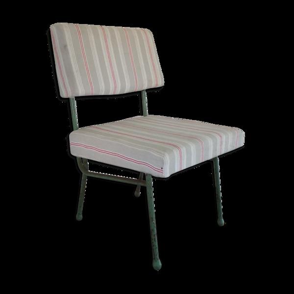 Chaise vintage relookée matelas