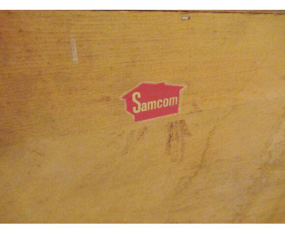 Enfilade scandinave en teck par Finn Juhl pour Samcom - 1950