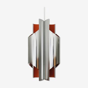 Suspension en métal danois par Bent Karlby pour Lyfa