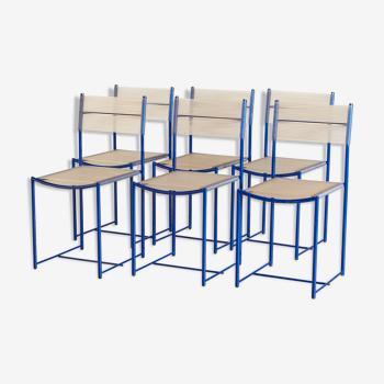 Spaghetti chairs by Giandomenico Belotti for Alias, set of 6