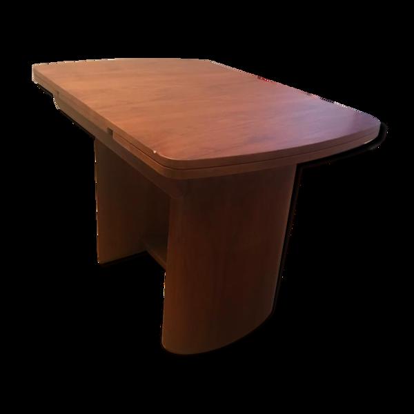 Table art deco en bois
