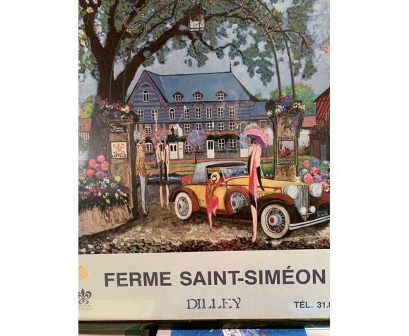 Affiche Honfleur Ferme Saint-Siméon